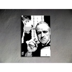 Popart schilderij Godfather 2