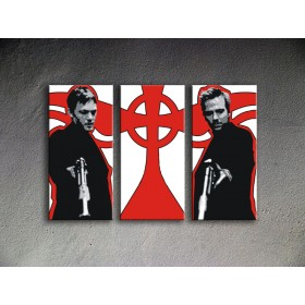 Popart schilderij The Boondock Saints 2