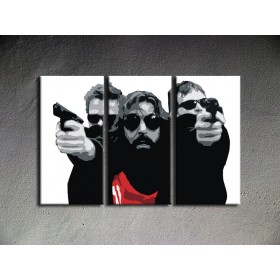 Popart schilderij The Boondock Saints 1
